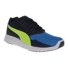 Beli Puma St Trainer Pro Shoes Peacoat Safety Yellow Online