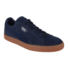 Obral Puma Suede Classic Citi Men S Basketball Shoes Peacoat Puma Silver Murah