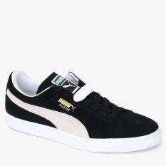 Review Puma Suede Classic Men S Lifestyle Shoes Hitam