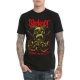 Toko T Shirt Punk Hitam Slipknot Logam Berat Hitam Baju Atasan Kaos Pria Kemeja Pria Online