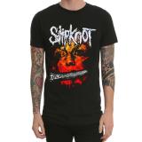 Spesifikasi Punk Slipknot Musim Semi Dan Musim Panas Lengan Pendek T Shirt Hitam Yang Bagus Dan Murah