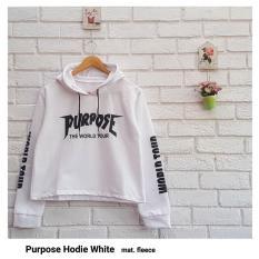 Beli Purpose Hoodie Crop Jaket Hoodie Wanita Crop Indonesia