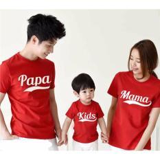 Pusat Baju Couple Keluarga Murah - Kaos Family Kapel Online - Pasangan (Coupel / Capel / Copel) Papa Mama