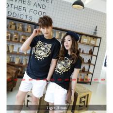 Jual Pusat Couple Online Baju Couple Murah Kaos Couple Tiger Hitam Branded