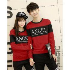 Pusat Pakaian Pasangan - Baju Sweater Couple - Kaos Kembaran ( Kapel / Coupel / Sama ) - Kapelan Remaja