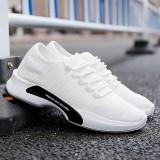 Beli Putih Kasual Kebugaran Sepatu Jaring Bernapas Sepatu Pria 508 Putih Murah Di Tiongkok