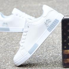 Review Terbaik Putih Pria Musim Gugur Produk Baru Kasual Sepatu Sepatu Sepatu Dan Putih Abu Abu