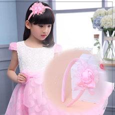 Model baru anak-anak Dasi kupu-kupu mawar HUADO Putri Imut manis Warna Merah