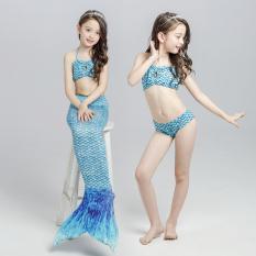 Review Pada Mermaid Anak Anak Baju Renang Langit Biru