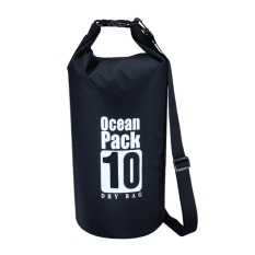Pvc Waterproof Penyimpanan Kering Sack Bag Pouch Beach Outdoor Tas Penyimpanan (hitam)(not Specified) By Welcomehome.