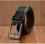 Harga Q Shop Asli Kulit Sapi Belt Jarum Buckle Belt Untuk Pria Ukuran 120 Cm 47 Inch Hitam Intl Oem Asli