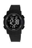 Spesifikasi Q Q Watch Sport Pria Hitam Rubber M122J001Y Lengkap
