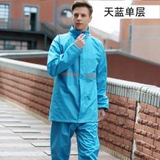 Beli Qinfeiman Jas Hujan Reflektif Tipe Terpisah Langit Biru Model Single Layer Baju Wanita Jaket Wanita Murah Di Tiongkok