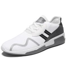 Beli Qingshui Classic Men High Quality Mesh Breathable Sport Shoes Trainers Sneakers Lightweight Shoes Intl Terbaru