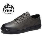 Beli Qingshui Classic Men High Quality Retro Oxford Leather Shoes Fashion Driving Shoes Business Shoes Intl Online