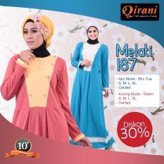 Review Pada Qirani Promo Gamis Melati 187 Kuning Muda