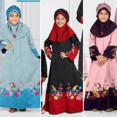 Qonitah Project GM 444 Size 10 Original Keke Busana Gamis Anak Balotely Sarimbit 04 Busana Muslim Baju Muslim Branded