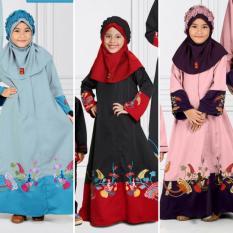 Qonitah Project GM 444 Size 08 Original Keke Busana Gamis Anak Balotely Sarimbit 04 Busana Muslim Baju Muslim Branded