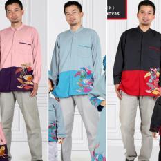 Qonitah Project KD 108 Size XS Original Keke Busana Koko Dewasa Lengan Panjang Balotely Sarimbit 04 Busana Muslim Baju Muslim Branded