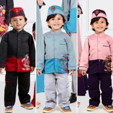 Qonitah Project KK 467 Size 2 Original Keke Busana Shirt For Little Boy Balotely Sarimbit 04 Fashion Muslim Branded