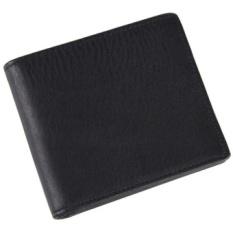 Jaminan Kualitas Pria Dompet dengan Zipper Pocket Dompet Kulit Asli Pria Dompet Merek Portafoglio Uomo Wallett untuk Uang-Intl