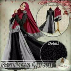 Queen Gamis Jumbo Berliana- Gamis- Baju Gamis Wanita- Busana Muslim- Bigsize