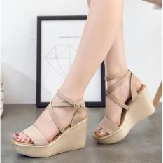 Obral Queen High Heels Ls31 Cream Murah
