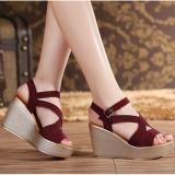 Jual Queen High Heels Ls31 Merah Murah Di Jawa Tengah