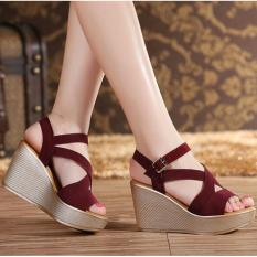 QUEEN: High Heels LS31 - Merah