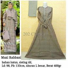 Queen Maxi Dress Katun Gamis Rabbani [SALE]