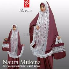 Queen Mukena Naura- Mukena Jersey- Mukenah Renda