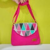 Beli Quina Tas Selempang Mini Sling Bag 009 Pink Terbaru