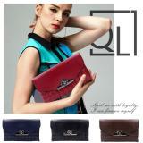 Spesifikasi Quincy Darla Premium Women Wallet On Chain Dompet Wanita Tas Selempang Merah Dan Harga