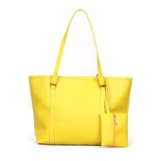 Quincy Label Eve Tote Bag Bonus Tas Kecil - Yellow