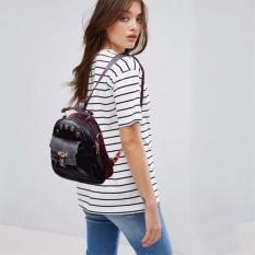 Harga Quincy Label Hexa 2In1 Backpack Slingbag Women Bag Tas Punggung Tas Selempang Wanita Black Asli
