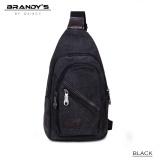 Review Toko Brandys Kanvas Marco Man Sling Bag Imp 9751 Black Online