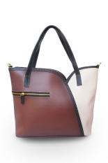 Diskon Quincy Label La Tullipe Tote Bag Brown Quincylabel