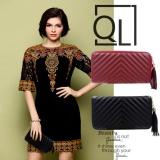 Review Quincy Label Lauren Women Premium Wallet Dompet Wanita Hitam Quincylabel Di Jawa Barat
