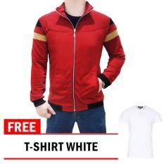 Toko Quincy Label Mazzo Merah Free T Shirt O Neck White Quincylabel Di Dki Jakarta