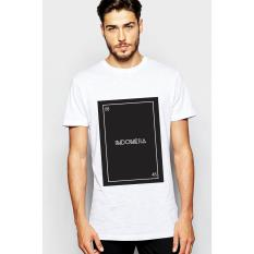 Toko Quincy Label Print T Shirt Indonesia A 254 White Online Di Dki Jakarta