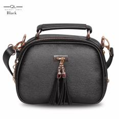 Quincy Label - Tas selempang tassel mini - Black