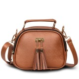 Situs Review Quincy Label Tas Selempang Mj Tassel Brown