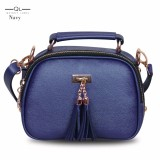 Review Pada Quincy Label Tas Selempang Mj Tassel Navy