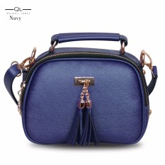 Quincy Label - Tas selempang tassel mini - Navy