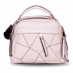 Beli Quincy Tas Pom Pom Import Women Fashion Bag Type 2 Cream Di Dki Jakarta