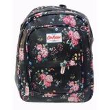 Review Quincybaby Ransel Tas Small Flower Kanvas Pencetakan Tas Sekolah Berlibur Bahu Bag Black S304 Di Dki Jakarta