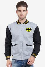 Spesifikasi Quincylabel Batman Cooper Man Varsity Grey Black