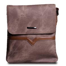 Katalog Quincylabel City Sling Bag Import Brown Quincylabel Terbaru