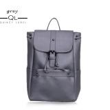Spesifikasi Quincylabel Cleo Tas Ransel Wanita Women Backpack Grey Murah Berkualitas