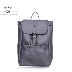 Promo Quincylabel Cleo Tas Ransel Wanita Women Backpack Grey Quincylabel